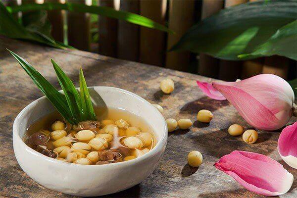 Hạt sen được dùng trong chế biến món ăn